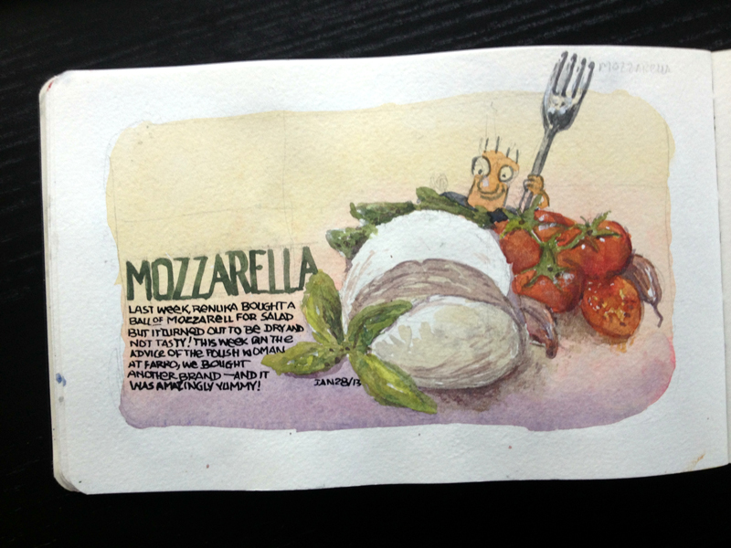 Mozzarella time!