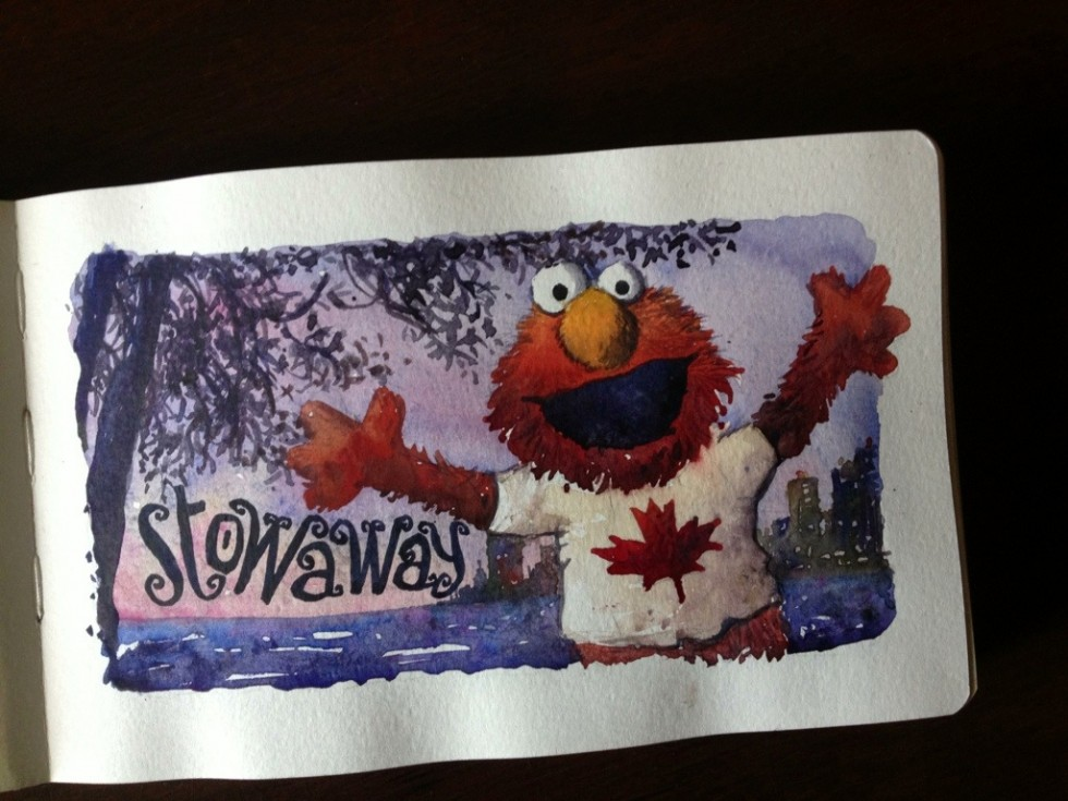 Elmo sticks around to party in Vancouver