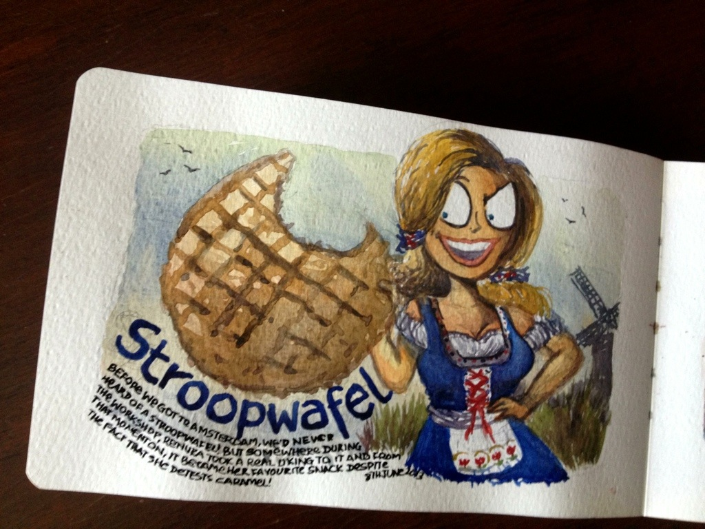 Holland: The land of stroopwafel